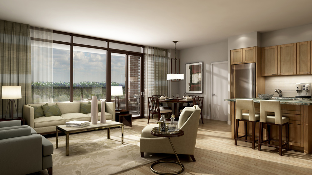 Toronto Condominium Model Suite