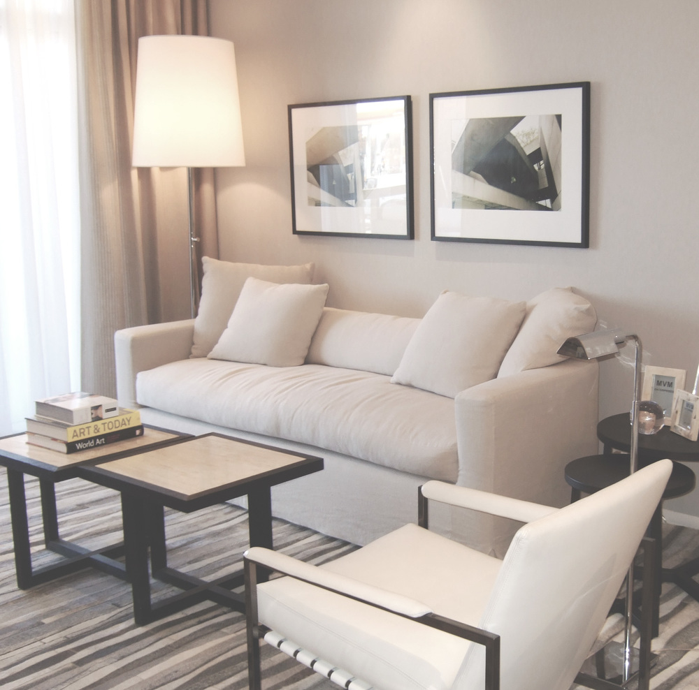Toronto Condominium Model Suite Living Room