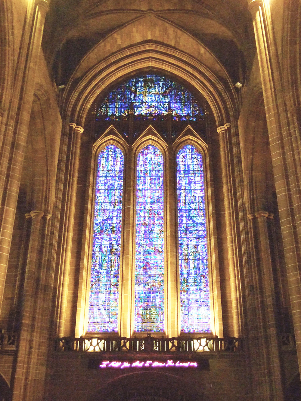 Tracey Emin Liverpool Cathedral