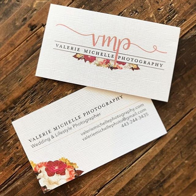 My favorite projects are the ones I design for friends and family. There's just something about using my creativity to help out someone I love - it's the best feeling. So happy I was able to work with @valeriemichellephoto to update her logo/brand. If you're local to Maryland be sure to check her out for all of your photography needs 💕