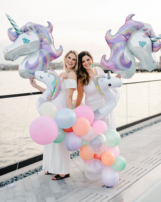 One more because @lemonandlimeeventdesign knows how to throw a party! So happy to have been able to contribute to such a fun day 💃🏻 . . . Photographer: @reneehphoto Planners: @lemonandlimeeventdesign Venue: @sagamorependrybaltimore Invitations + Sticker Design: @highwingcreativeco Make Up: @ariellewisllc Balloon Installations: @thesentimentalfools  Cake: @cakebyjason Balloons for Invites: @lolasconfettishop Rock Candy Drink Stirrers: @tinassweettreats Cookies: @sugarcookiesbybritt Tattoos: @dunkirkdesigns
