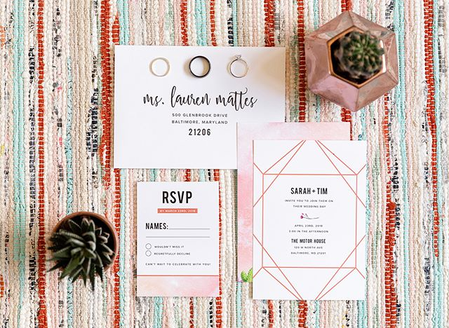 All the heart eyes for this recent styled shoot @highwingcreativeco participated in at the Motor House in Baltimore 😍 I was definitely bummed I couldn't make the trip home to see the magic come together in person, but am grateful that paper items can be delivered anywhere! Thank goodness for snail mail, am I right? Vendors are tagged! All photos by the lovely @sarahwockenfussphoto