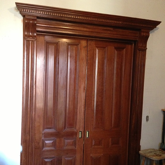 Cherry Pocket Doors
