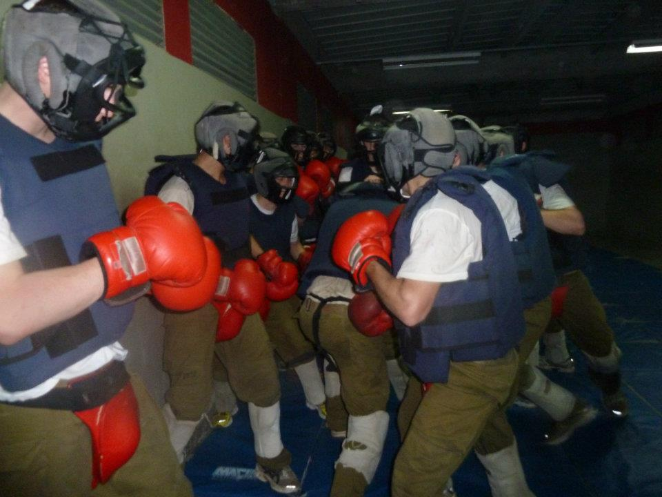 For the most part, class was dedicated to striking and extreme aggression drills; usually involving fighting and wrestling drills where one person had to fight the whole class.