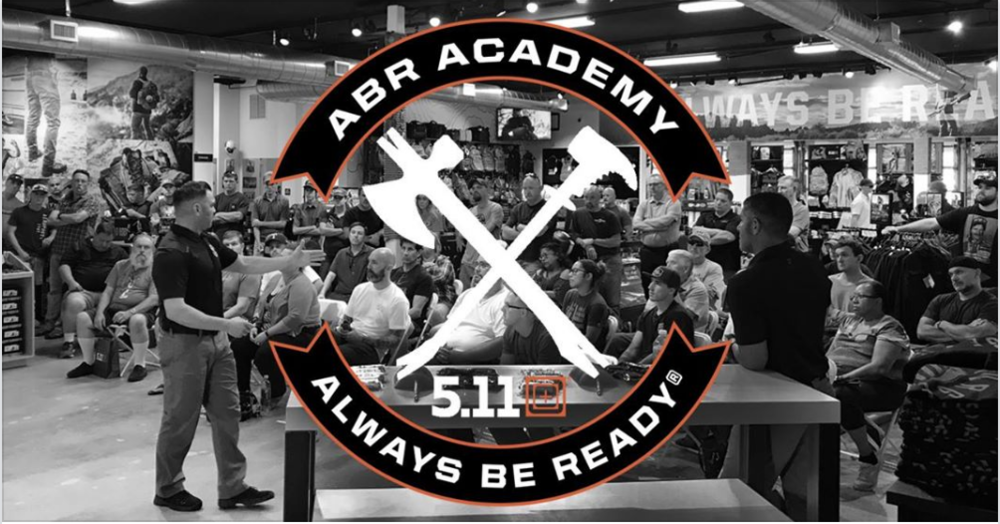 This class will be hosted by the 5.11 Tactical store in Sunset Valley.