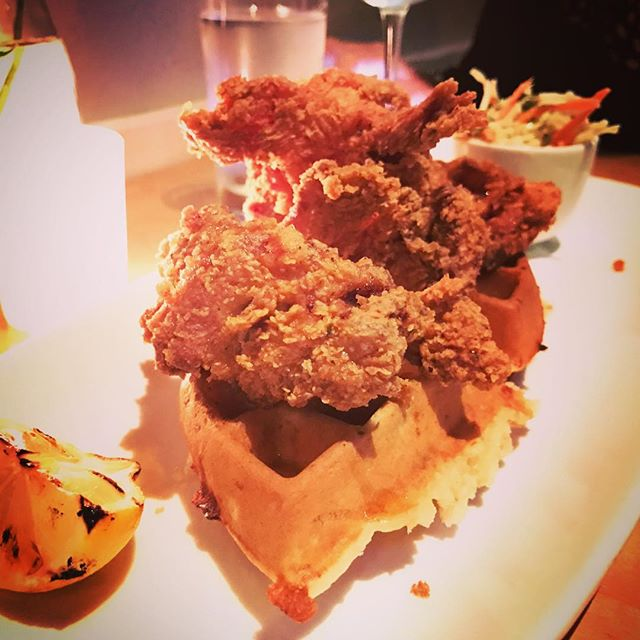 Cause... #chickenandwaffles