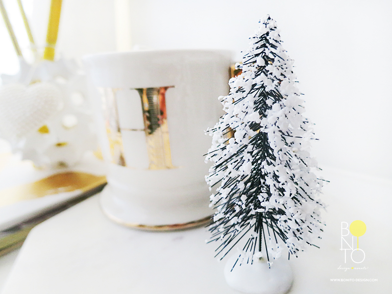 Dec. 2  Big, Small or Tiny Tree counts in our books! This tiny tree from Michaels can decorate your desk area without any effort.