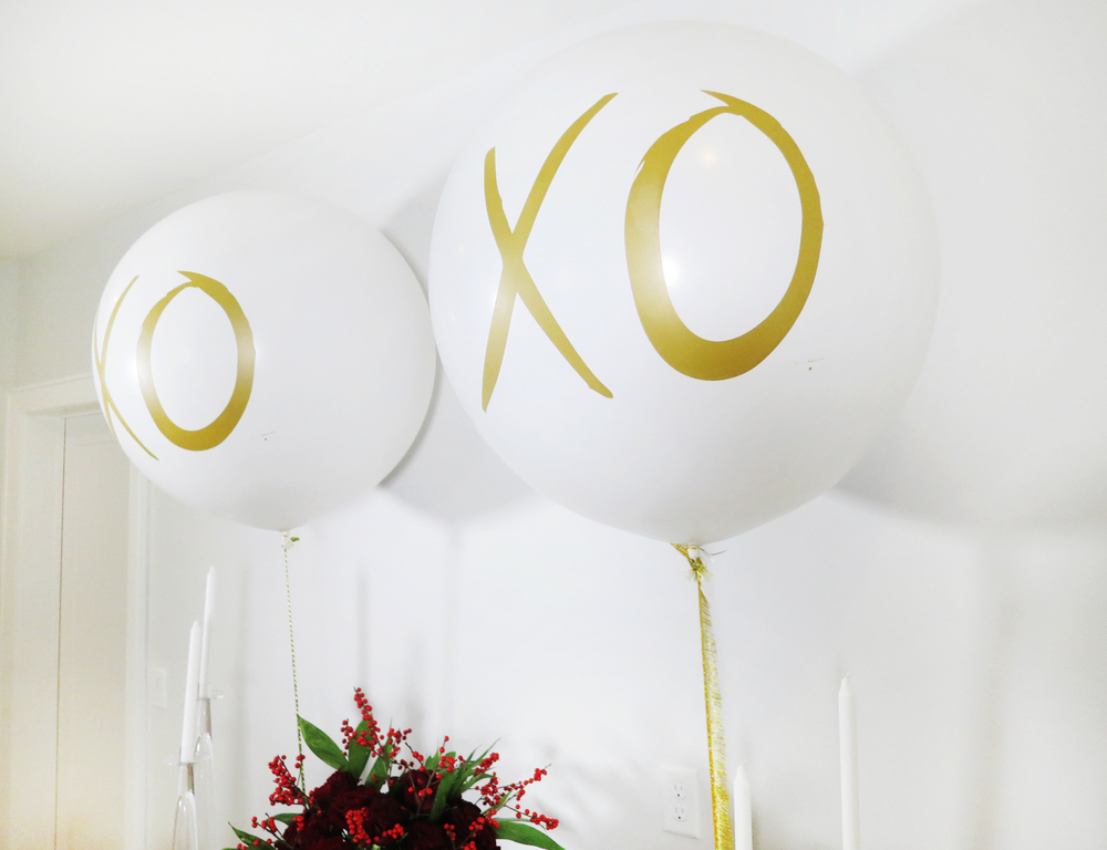 XO Helen & Kathleen Balloons from DROPITMOD Flowers by FloraBrookNY