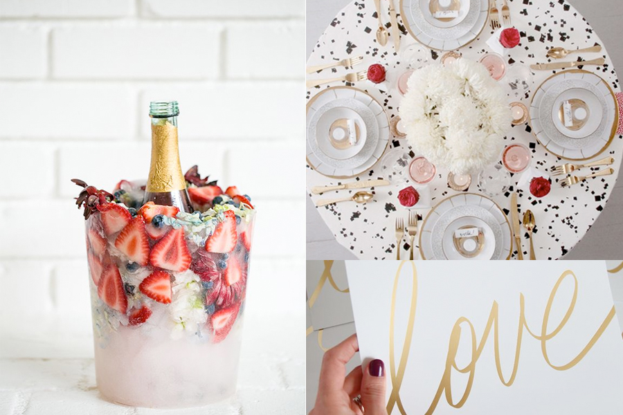 Bonito Design Pinterest  has been activated with LOVE! On today's post we wanted to share a few of our picks on wonderful ideas for Valentine's Day.