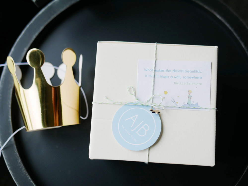 BONITO DESIGN THE LITTLE PRINCE PARTY GIFT.JPG
