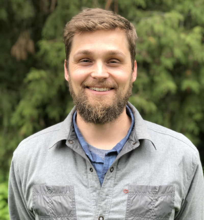 Mac Barr, ODFW, will present current work studying Eulachon populations on the Oregon Coast and beyond. (Photo credit: Mac Barr)