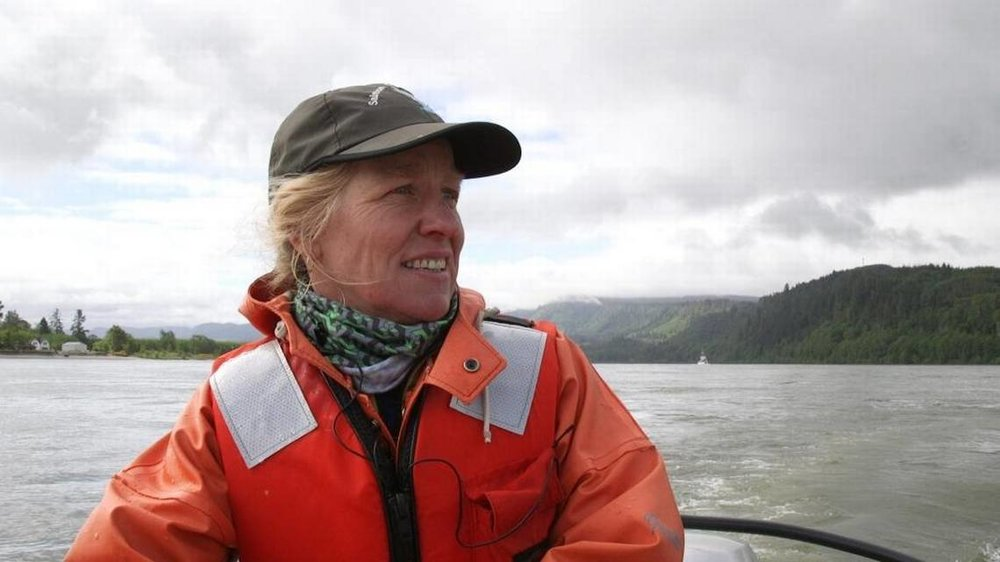 Laurie Weitkamp, Salmon Biologist at NOAA's Northwest Fisheries Science Center
