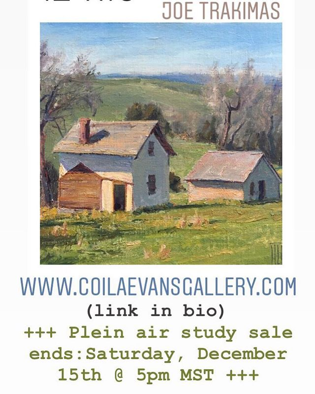#joetrakimas #josephhtrakimas #pleinairpainting #pleinair #pleinairartist #montanaartist #americanartist . #coilaevansartgallery #coilaevansgallery #bigskyjournal #oilpainting #artist #artcollector #westernartcollector #artgallery #impressionism #fineart #oilpainting #landscape #brushstroke #originalart #traditionalart #montanalandscape #montana #barn #barns #farmhouse #farmhousechic