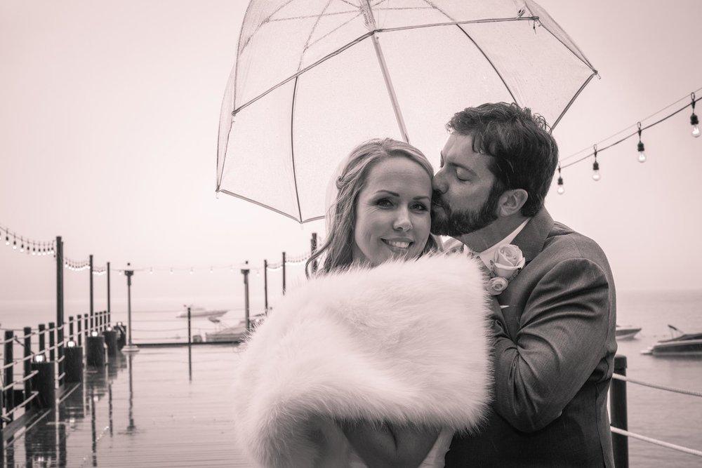 Winter Tahoe wedding