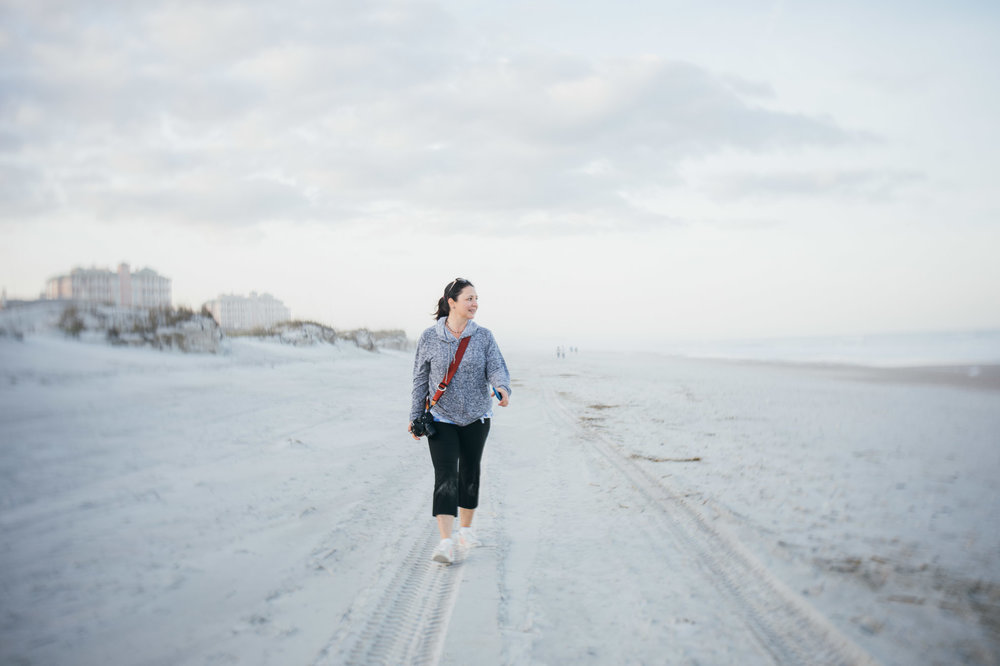 Soft light, the ocean and white sand equals photography heaven
