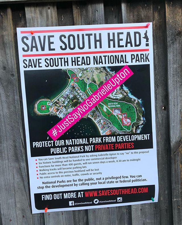 Our posters have been updated in line with the next phase of our campaign. #justsaynogabrielleupton watch out for them appearing in all kinds of strategic places. If you need a poster to hang on your fence or wall, please contact us at savesouthhead@gmail.com #justsaynogabrielleupton #saveournationalparks #savesouthhead