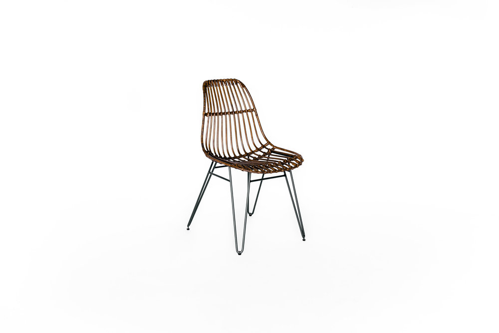 AVERY RATTAN CHAIRS
