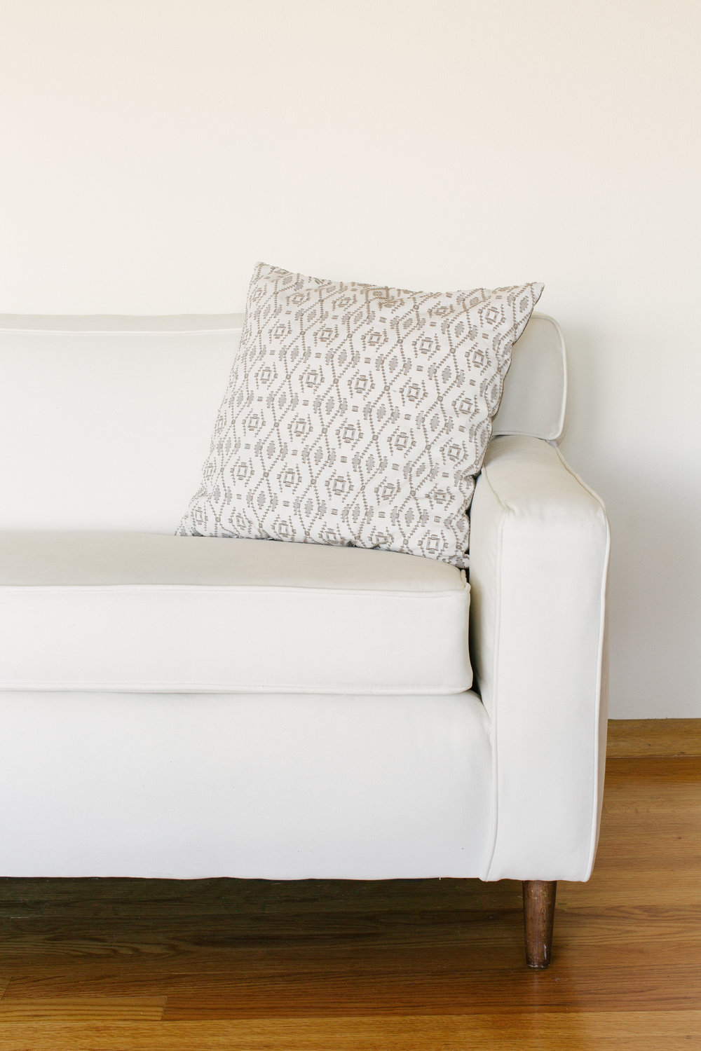 TAUPE TRIBAL PILLOWS