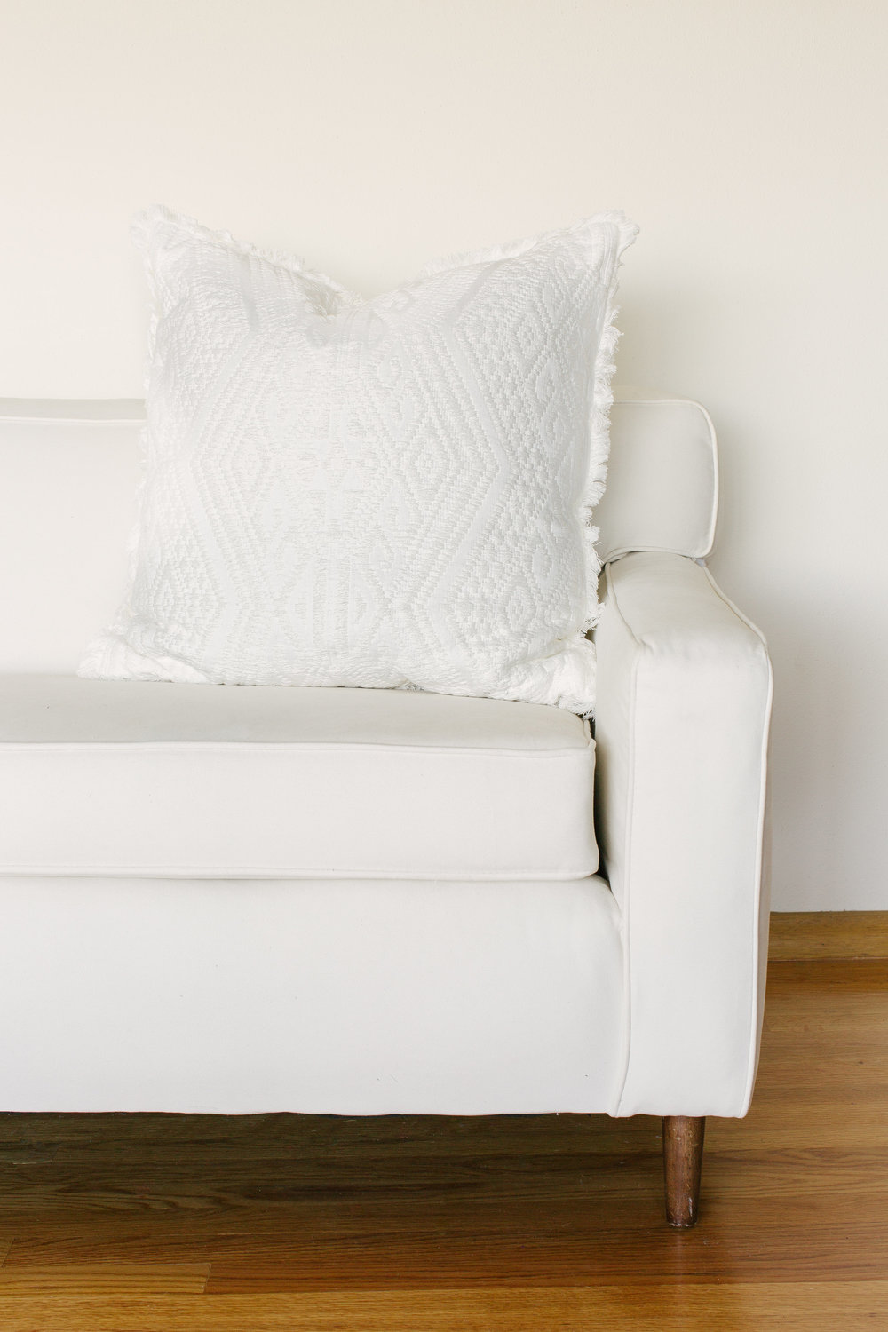 IVORY TRIBAL PILLOWS