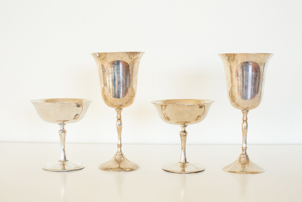 SILVER GOBLETS & COUPES