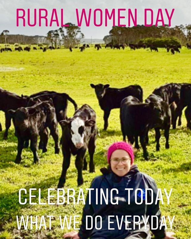 Do you know today is Rural Women's day? #ruralwomensday #celebratingwhatwedoeveryday