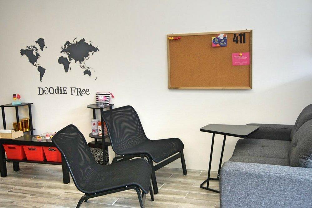 parent lounge area