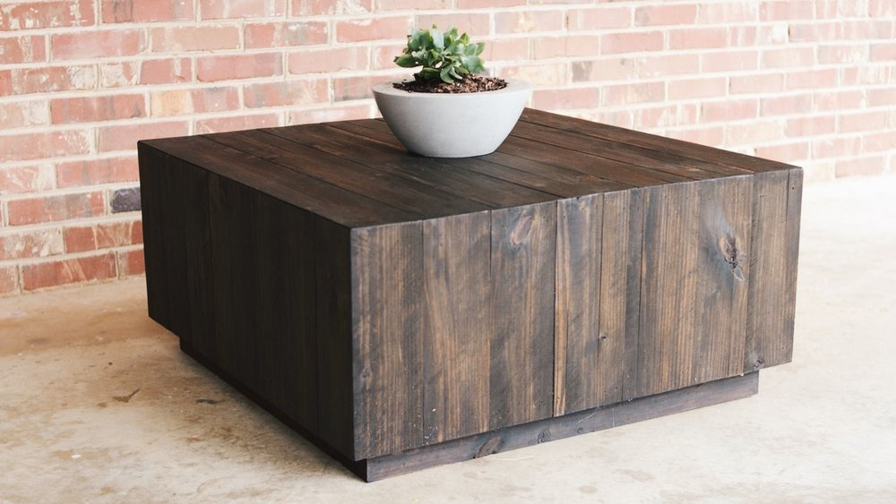 Fynn - A rustic approach coffee table that brings people together.