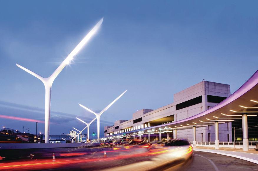 LAX Exterior Improvements  Los Angeles, CA  AECOM
