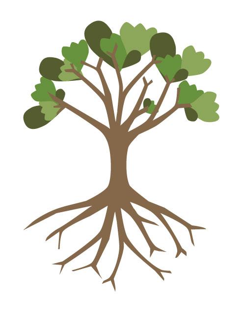 Tell 'em tree love leaves support