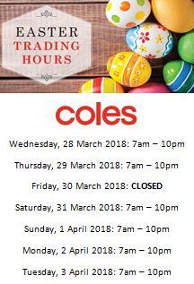Meadwo Mews trading hours Coles.JPG