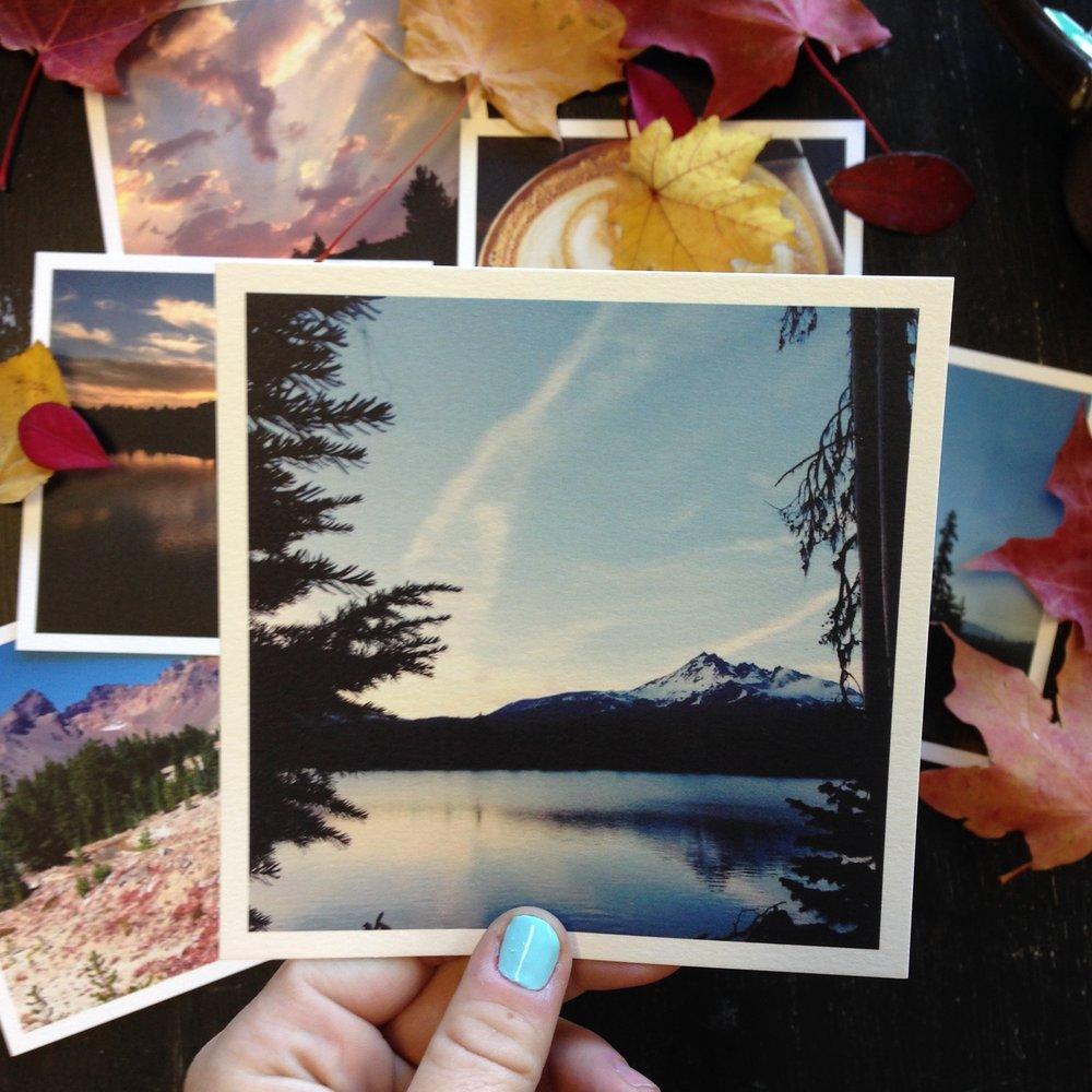 Fall in Bend Oregon