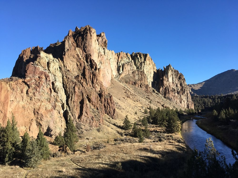 Smith Rock in Fall