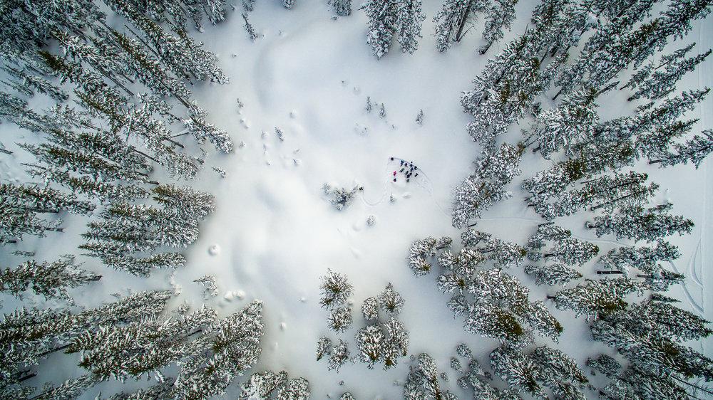 Snowshoe in Bend
