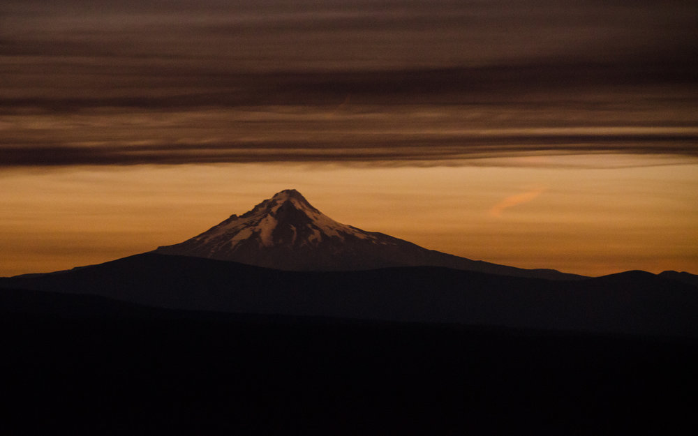 """Taking in this celestial event from the best possible viewing location was one of the most unique experiences of my life. The best part? Seeing Mt. Jefferson cloaked in darkness while Hood, outside totality, was lit up like a candle."" - Danny Walden, Wanderlust Tours Naturalist Guide"