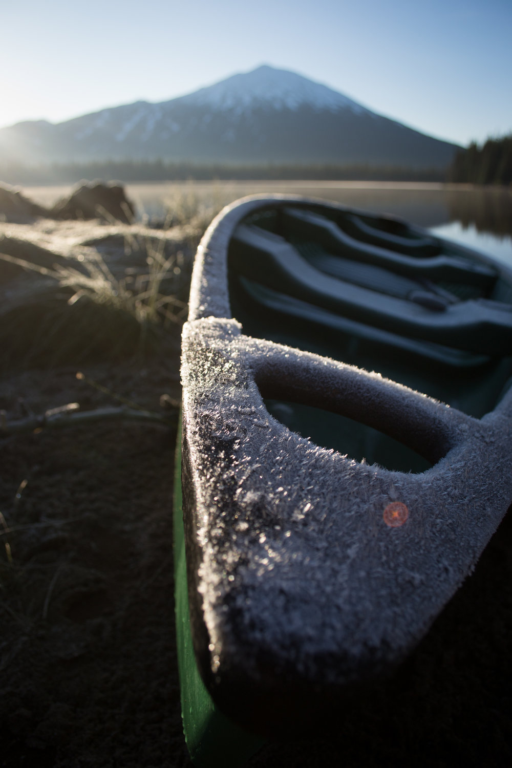 Reason #1 to bring a Hydro Flask of hot cocoa on the tour... Sometimes those early morning paddles in the fall are cold!