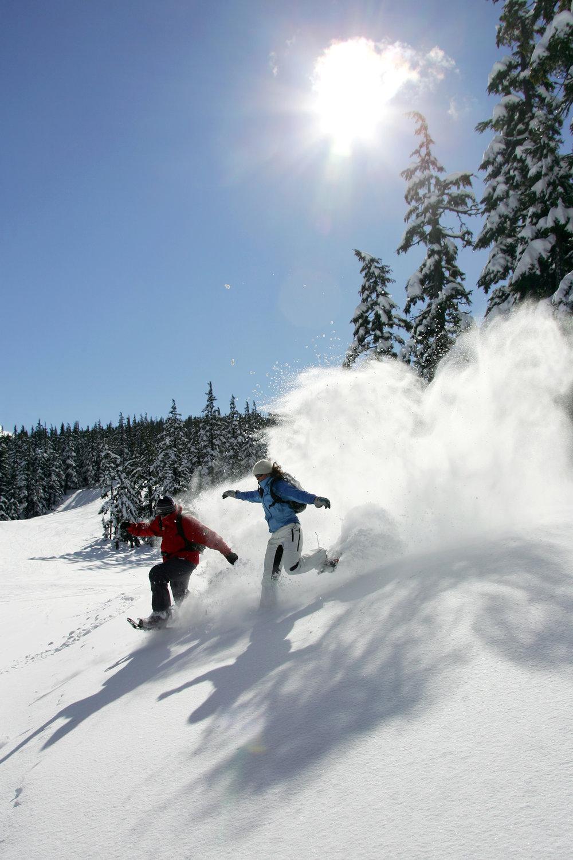 Snowshoe Mt. Bachelor!