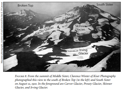 "Images from ""Our Vanishing Glaciers"" by Jim E. O'Connor"