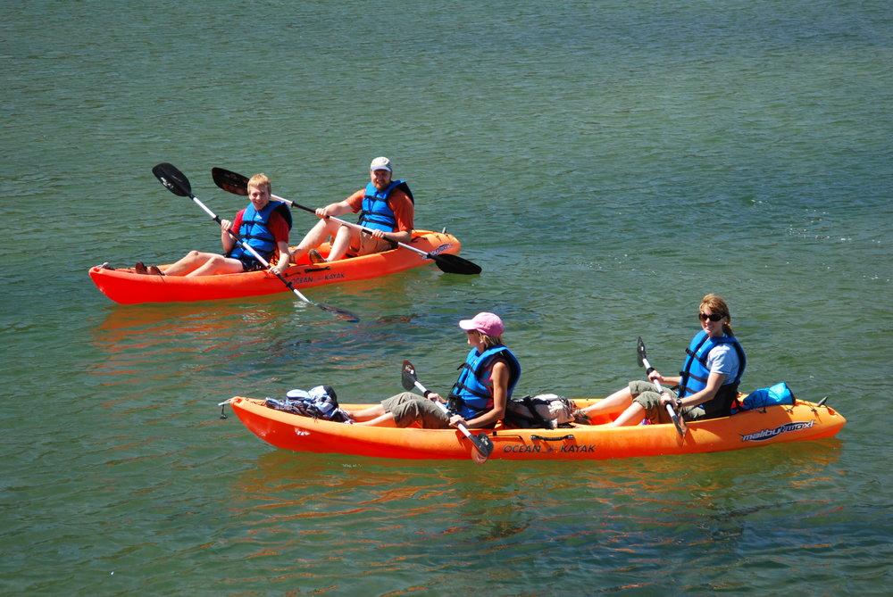 Kayak-Wanderlust-Tours
