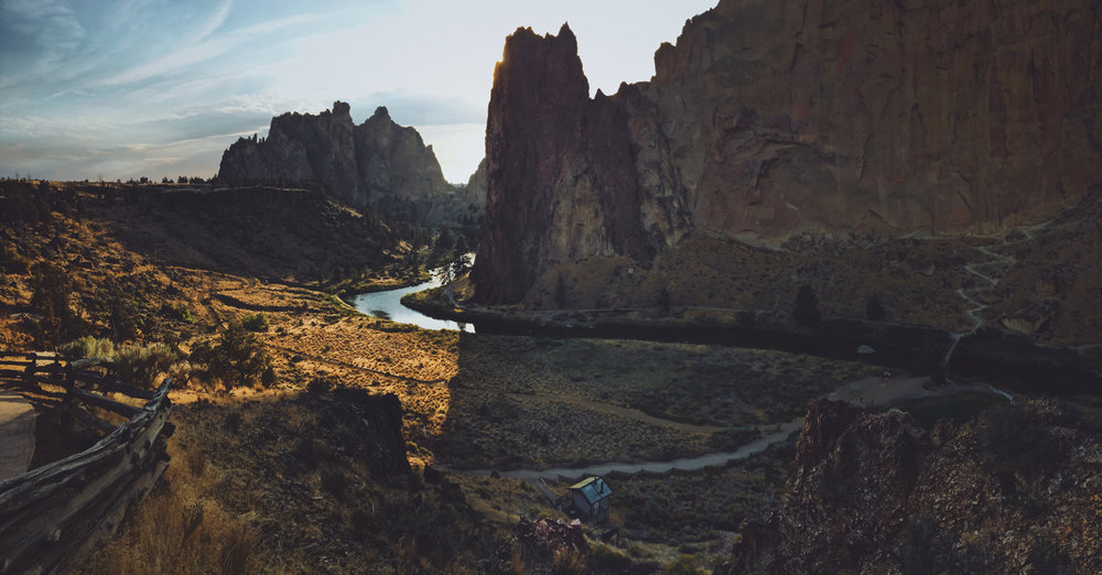 Smith Rock State Park. Photo by Jeff Finley.