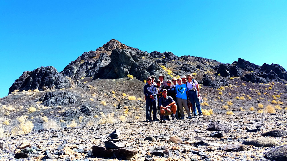 The group in the Black Rock Desert