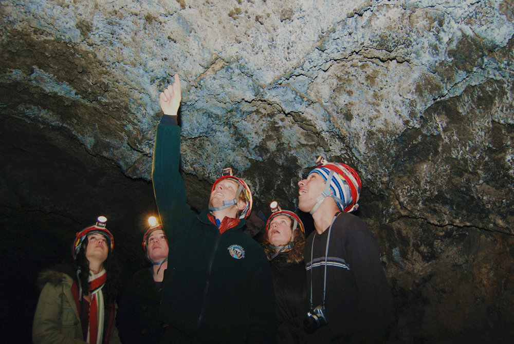 Our Lava Tube Cave Tours are running daily this winter!