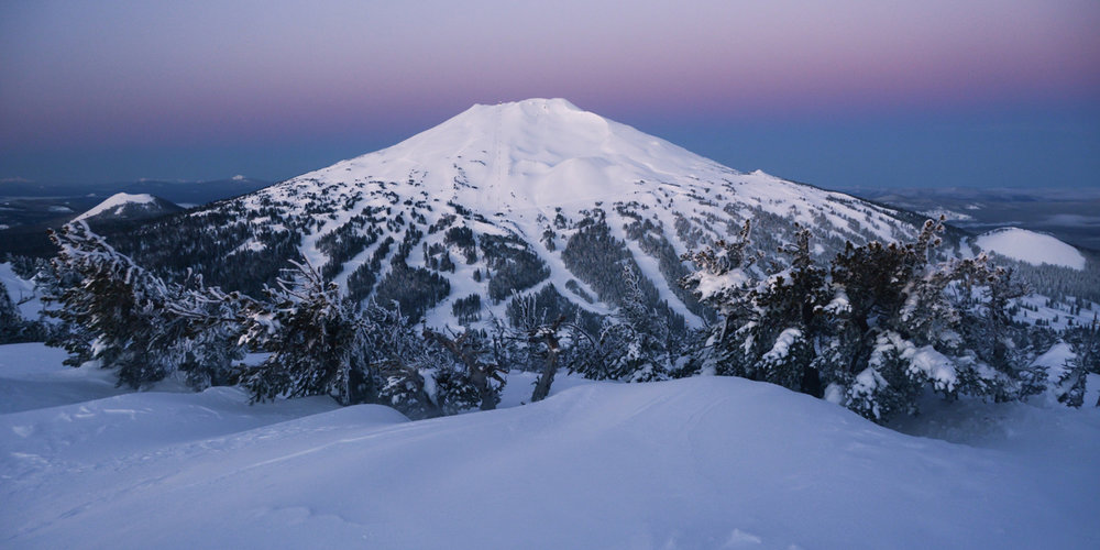 Winter camping tours Bend, Oregon.