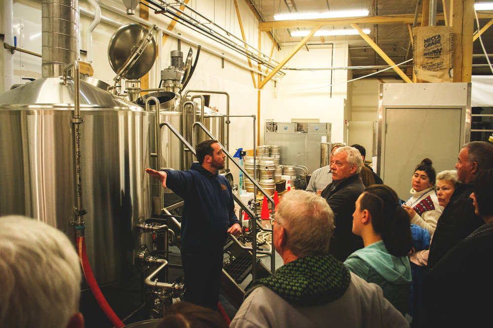 Brewery tours in Bend
