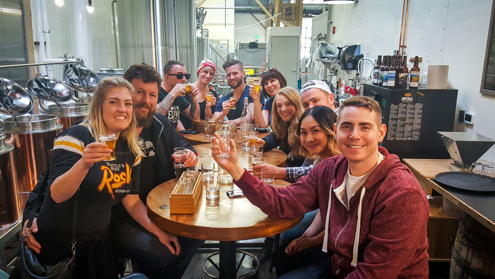 Bend beer tours