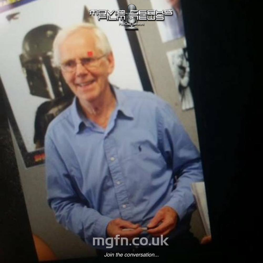 Bex grabbed a shot of the original (and best!) #BobaFett Jeremy Bulloch. This is a photo of her photo. Meta. #LFCC2015 MGFN.co.uk Other things we're into that you can expect to find here: #Avengers #batman #empirestrikesback #Movies #gameofthrones #posters #thewalkingdead #Marvel #starwars #ghostbusters #dc #comics #warnerbrothers #StarTrek #HarryPotter #Superheroes #disney #GuardiansOfTheGalaxy #lucasfilm #thewalkingdeaduk #amc #transformers #amazingspiderman #Joker #alien #Daredevil #XMen #FantasticFour