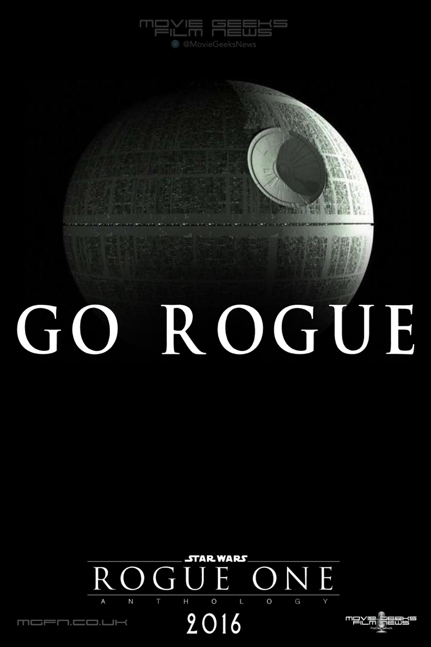"I put together a Star Wars Rogue One ""Go Rogue"" one sheet poster based on the Mission Impossible Rogue Nation ""Go Rogue"" campaign. I know which one I'm more interested in seeing…"