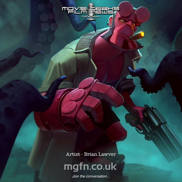 Wicked cool #Hellboy art by artist Brian Lawver. See more of his amazing work at BrianLawver.net or follow @lawvalamp MGFN.co.uk Other things we're into that you can expect to find here: #Avengers #batman #empirestrikesback #Movies #gameofthrones #posters #thewalkingdead #Marvel #starwars #ghostbusters #dc #comics #warnerbrothers #StarTrek #horror #HarryPotter #Superheroes #disney #GuardiansOfTheGalaxy #lucasfilm #thewalkingdeaduk #amc #transformers #amazingspiderman #Joker #alien #Daredevil #XMen #FantasticFour