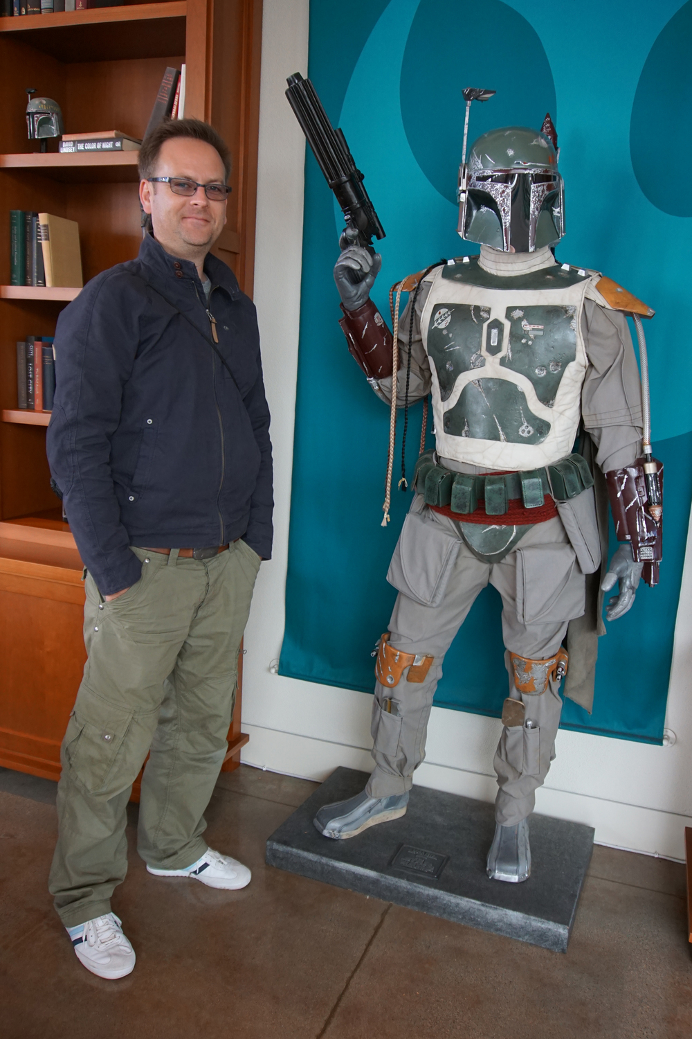 Me and Boba ©MarcGodsiff2014
