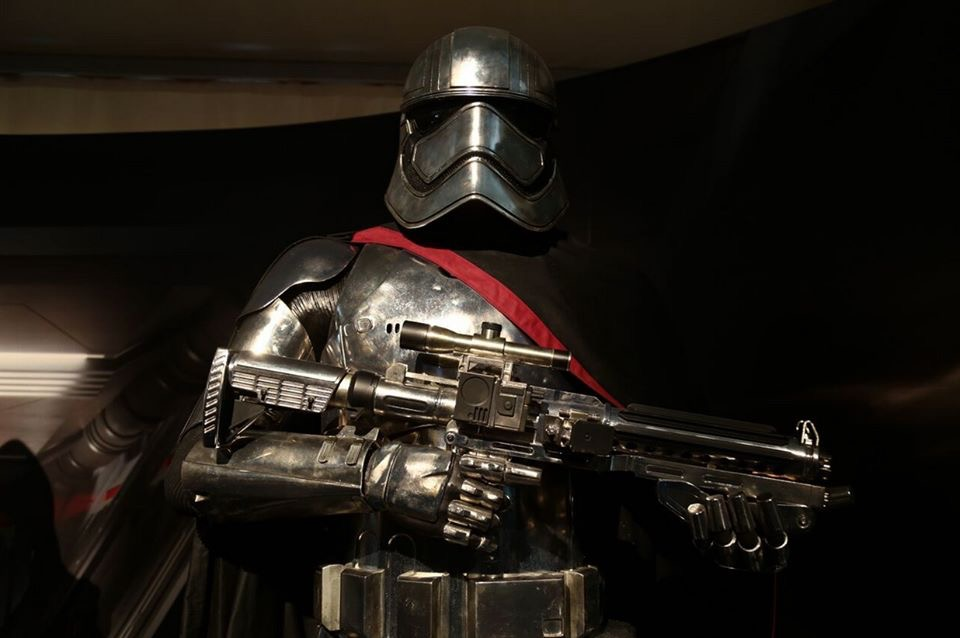 Captain Phasma's armour as seen at a recent convention
