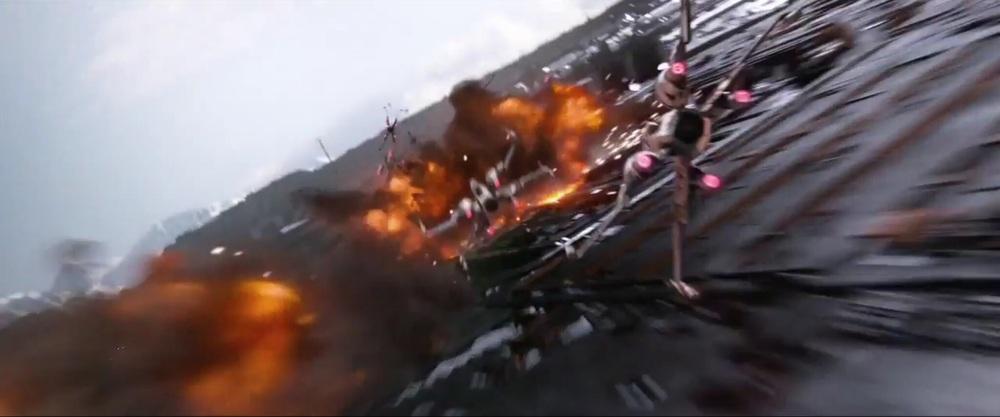 Thrilling aerial combat...